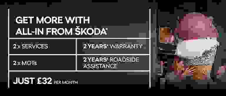 ŠKODA All-in Servicing & Warranty