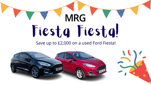 Save thousands on a Ford Fiesta during our 'Fiesta, Fiesta!'