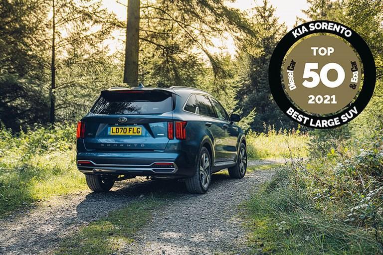 KIA SORENTO NAMED 'BEST LARGE SUV' IN DIESEL CAR & ECO CAR TOP 50