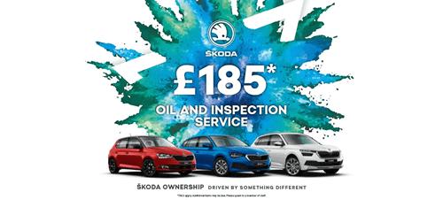 ŠKODA - £185 Oil And Inspection Service