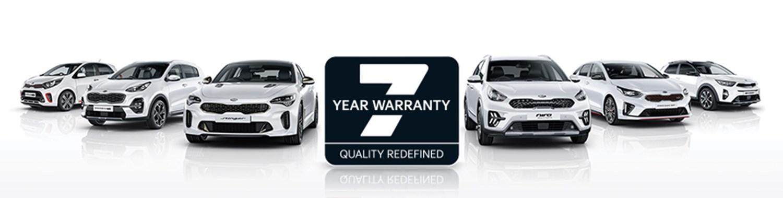 7 Year warranty