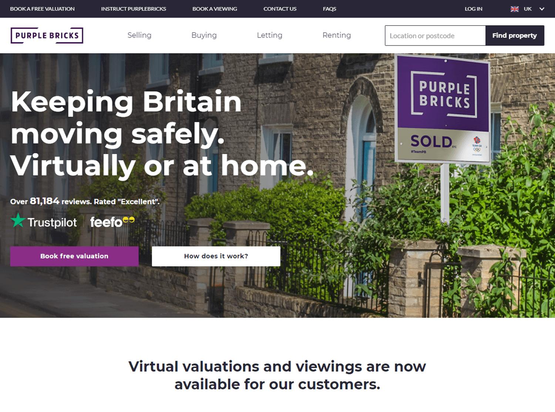 purple bricks website