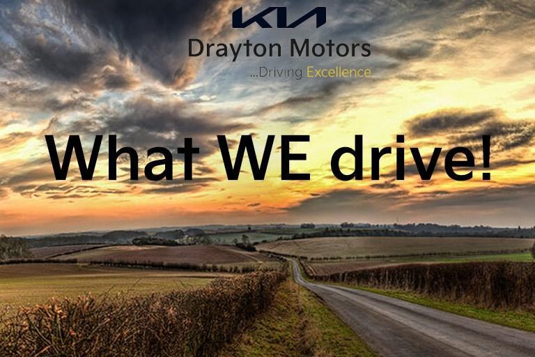 What WE drive! at Drayton Motors