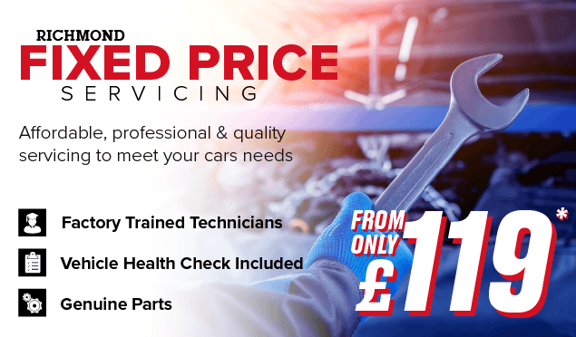 Richmond Fixed Price Servicing Banner