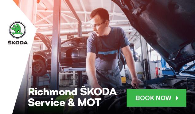 SKODA Service Booking Banner