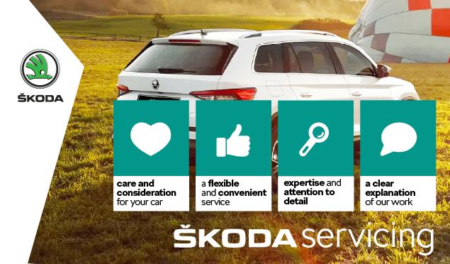 SKODA Fixed Price Servicing Banner
