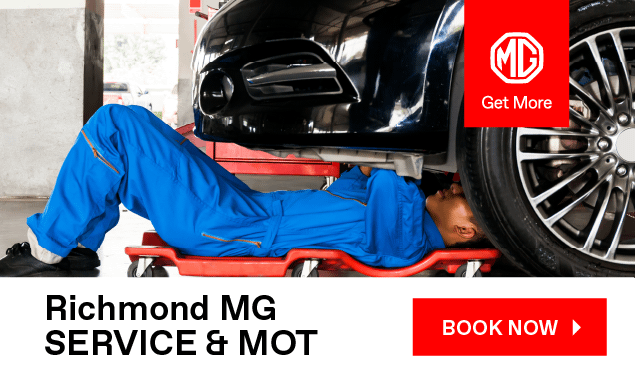 MG Service Booking Banner