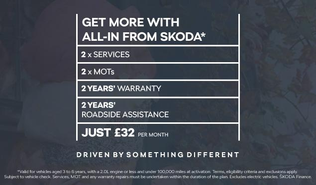All-in from SKODA Banner