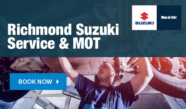 Suzuki Service Booking Banner