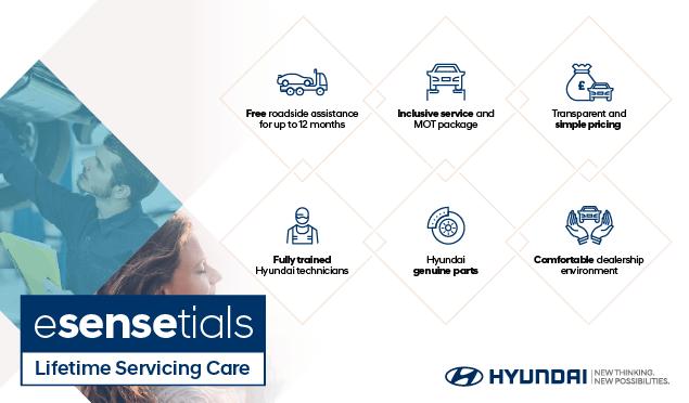 Hyundai Esensetials Servicing Banner