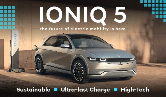 IONIQ 5 Homepage Banner