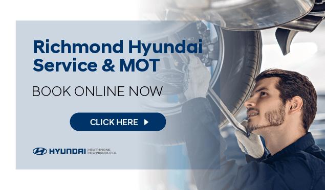 Hyundai Service Booking Banner