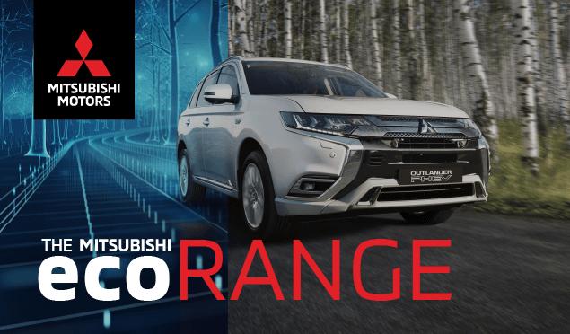 Mitsubishi ECO Range Banner