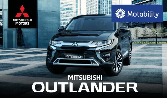 Mitsubishi Motability Banner