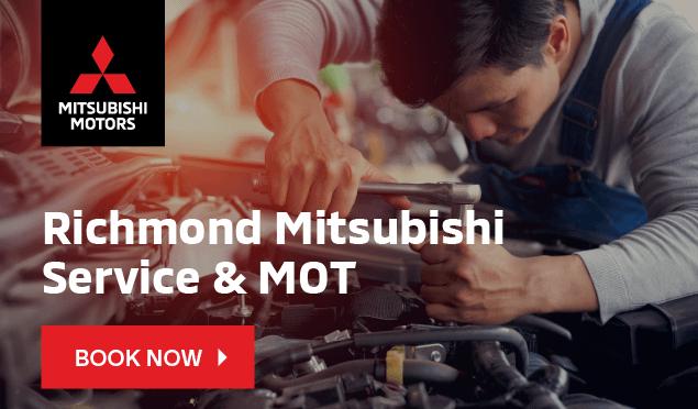 Mitsubishi Service Booking Banner