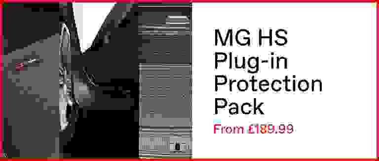 MG HS Plug-in Hybrid Protection Pack