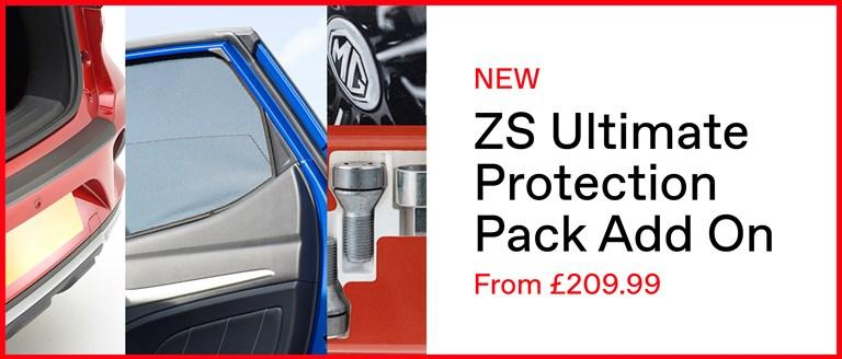 New MG ZS Ultimate Protection Pack Add On