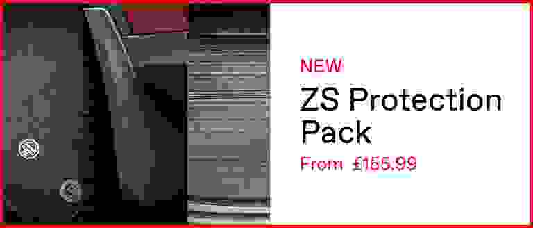 New MG ZS Protection Pack