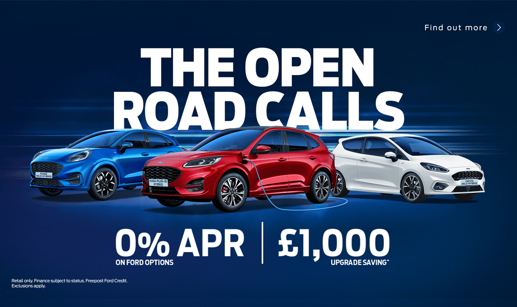 The Open Road Calls Ford Offer
