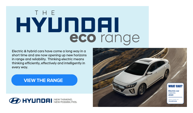 Hyundai ECO Range Banner