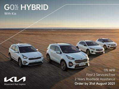Go Hybrid with 0% APR Finance