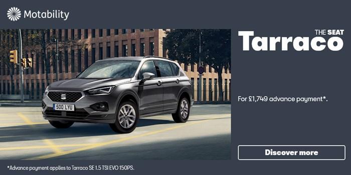 SEAT Tarraco Motability Offer