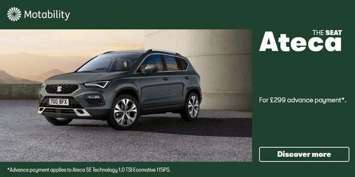 SEAT Ateca Motability Offer