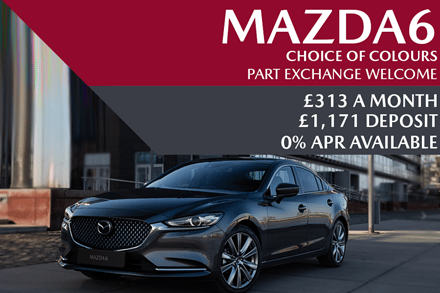 Mazda6 - Now £313 A Month | £1,171 Deposit And 0% Finance Available