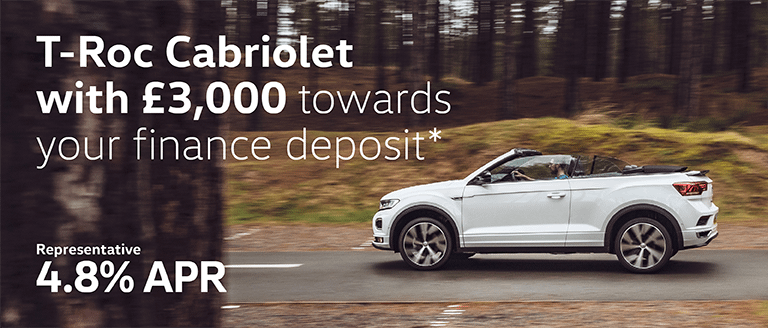 Volkswagen T-Roc Cabriolet Finance Offer