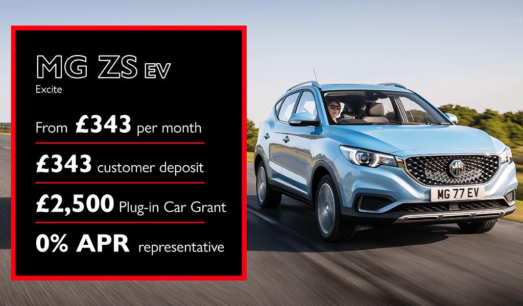 MG ZS EV Offer