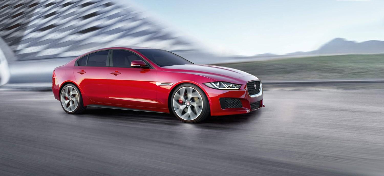Red Jaguar Saloon