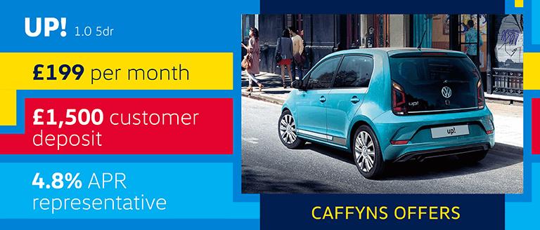 Caffyns Offers - Volkswagen up!