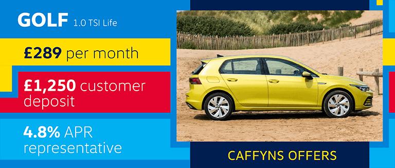 Caffyns Offer - Volkswagen Golf 8 Life