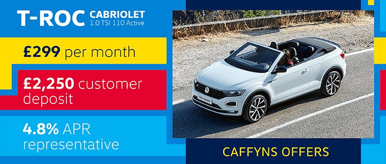 Caffyns Offer - Volkswagen T-Roc Cabriolet