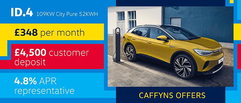 Caffyns Offer - New Volkswagen ID.4 Finance Offer