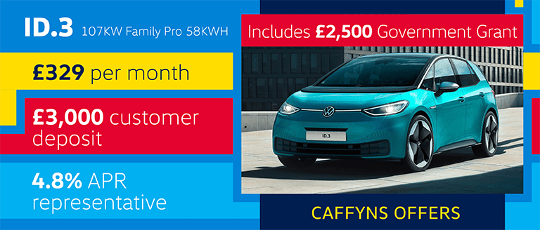 Caffyns Offer - Volkswagen ID.3 Family