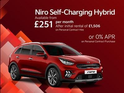Kia Niro Self-Charging Hybrid Latest Offers