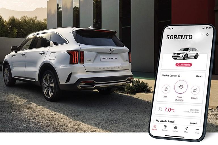 KIA'S UVO CONNECT APP ENHANCED WITH IMPROVED USER INTERFACE AND UPDATED FEATURES