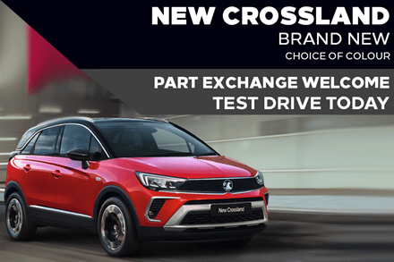 All-New Vauxhall Crossland - £239 A Month | £0 Deposit - PCP