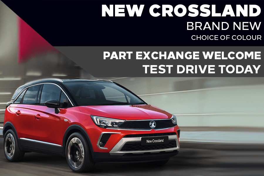 All-New Vauxhall Crossland - £239 A Month   £0 Deposit - PCP