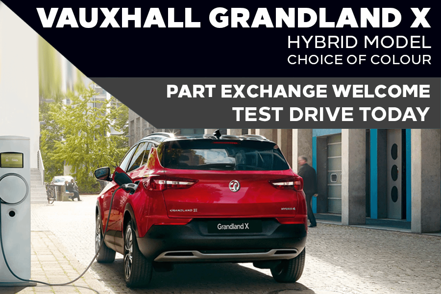 Brand New Vauxhall Grandland X Hybrid - £477 A Month   £1,599 Deposit - PCP
