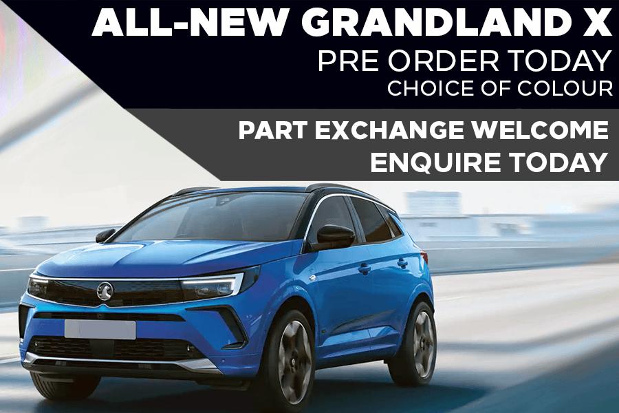 Brand New Vauxhall Grandland X - £339 A Month   £0 Deposit - PCP