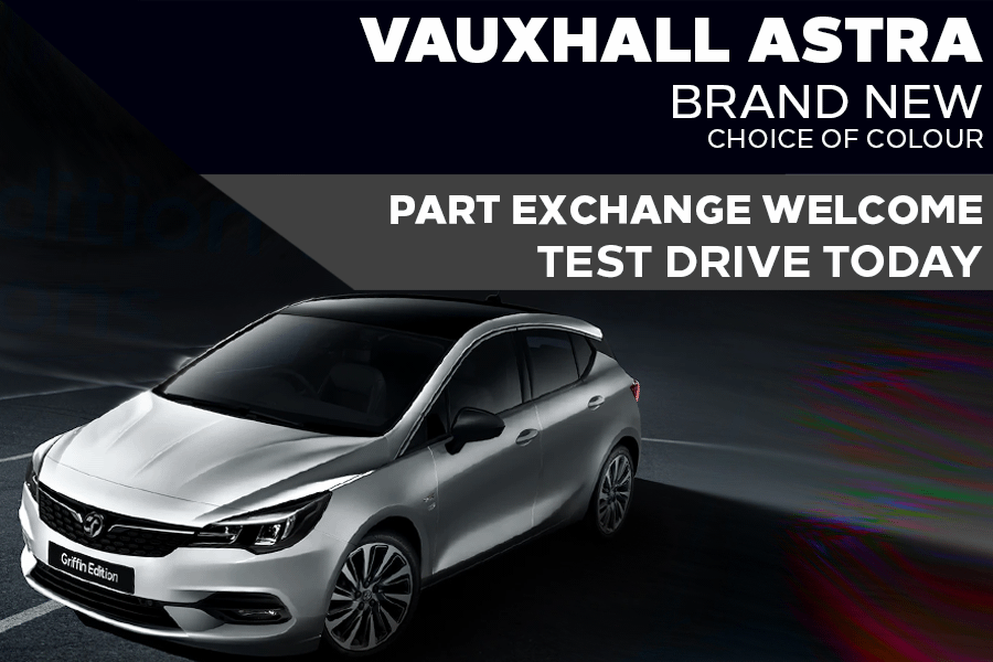 New Vauxhall Astra Griffin - Now £268 A Month | £0 Deposit - PCP