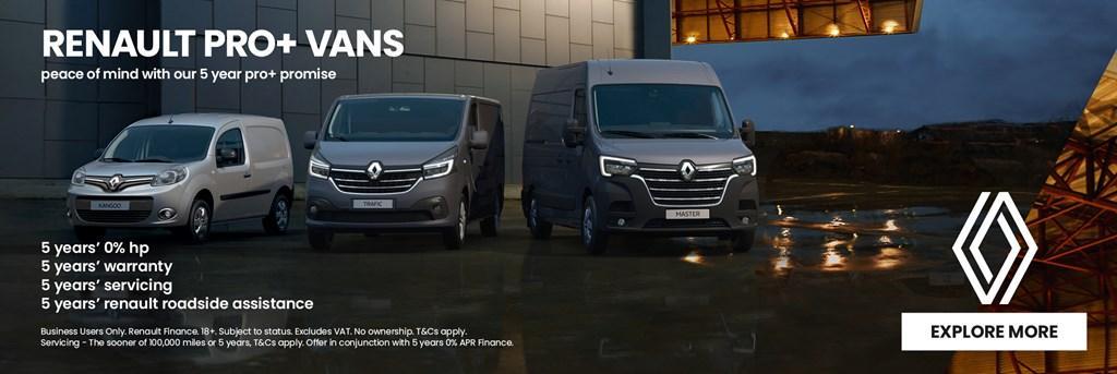 Renault Pro+ Vans