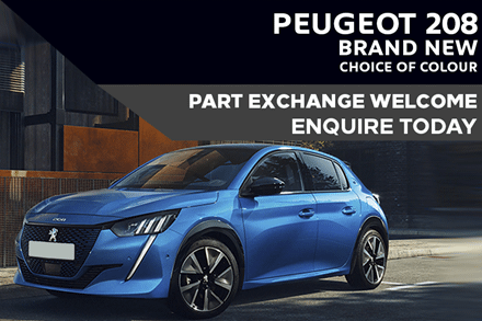 All-New Peugeot 208 For £225 A Month With £2,000 Deposit