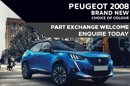 Peugeot 2008 SUV - Only £238 A Month With £2,000 Deposit