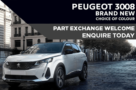 Peugeot 3008 SUV - Only £323 A Month With £3,000 Deposit