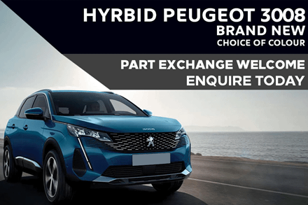 Peugeot 3008 HYBRID SUV - Only £299 A Month With £3,903 Initial Deposit
