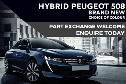 Hybrid Peugeot 508 - Only £394 A Month  | £4,000 Deposit On PCP