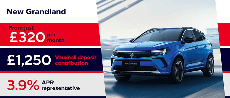 New Vauxhall Grandland Finance Offer